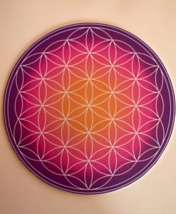 Mandala for crystal grids